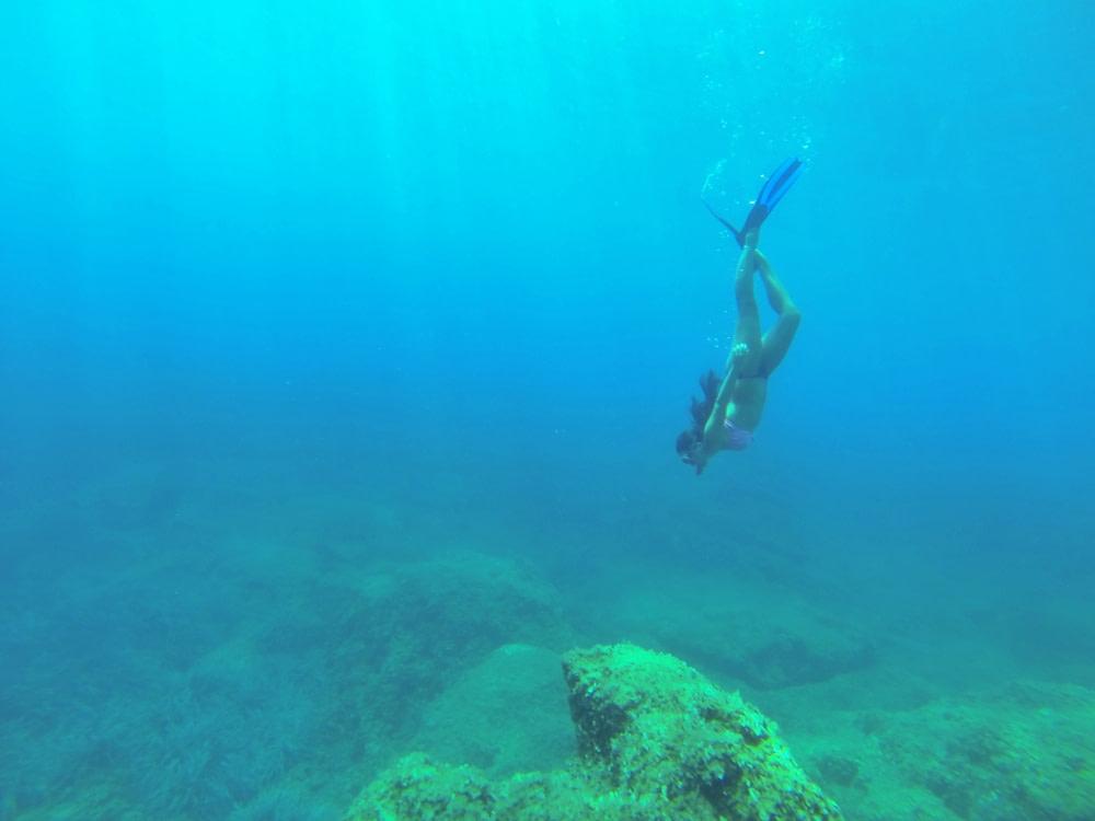 Underwater diving at the Elaphiti Islands