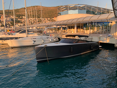 Yacht Vandutch 32, Hermes docked at Marina Dubrovnik