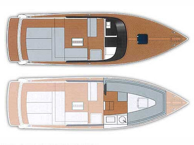 vandutch yacht interior and exterior layout