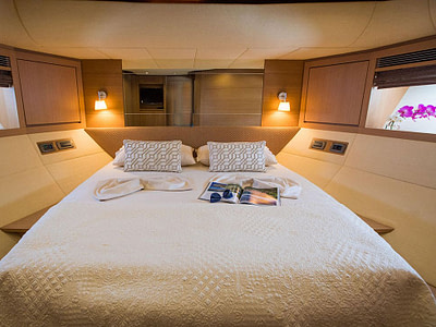 cabin interior of the Salt boat for rent in Dubrovnik,