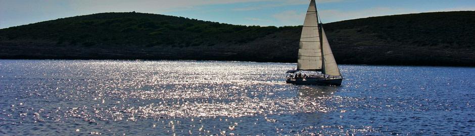 Photograph of a sailboat